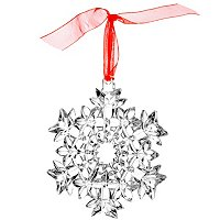 WATERFORD CRYSTAL SNOW CRYSTAL STAR ORNAMENT