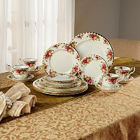 Royal Albert Old Country Rose 20 Piece Dinnerware Set