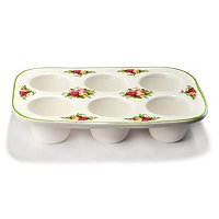 Royal Albert Old Country Rose Cup Cake Pan