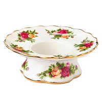 Royal Albert Old Country Rose Low Candle