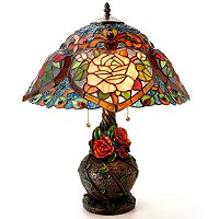 Heart of Roses Table Lamp