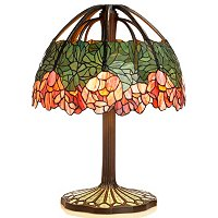 Tiffany Inspired Lotus Table Lamp