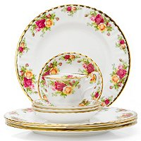Royal Albert Old Country Rose 12 Piece Dinner Set