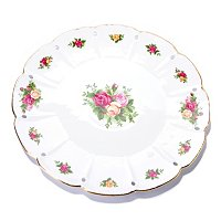 "Royal Albert Old Country Rose 14"" Round Platter"