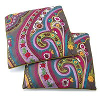 SET OF TWO WHIMSICAL THROW PILLOWS