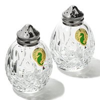 Waterford Crystal Lismore Round Salt and Pepper Set