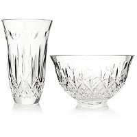 Waterford Crystal 60th Anniversary I Love Lismore Set signed by Jorge Perez