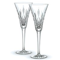 Waterford Crystal Classic Lismore Toasting Flute Pair