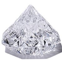 Waterford Crystal Diamond Paperweight