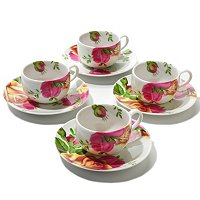 Royal Albert Country Rose Espresso Cup and Saucer Set of 2