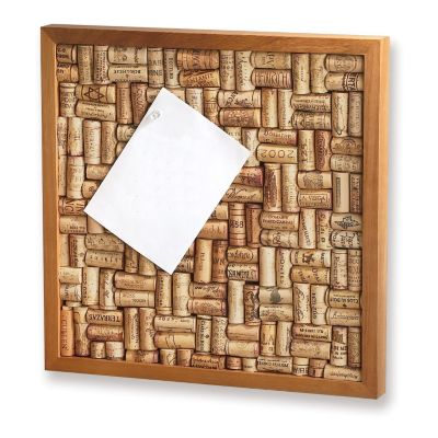 407-484 - Wine Enthusiast Small Wine Cork Board Kit
