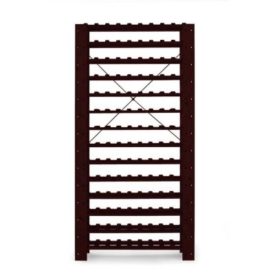 407-516 - Swedish 126 Bottle Wine Rack (Mahogany)