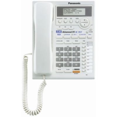 407-995 - Panasonic KX-TS3282W Two-Line Integrated Phone System