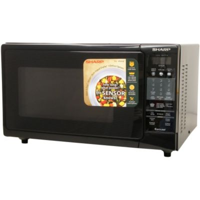 408-208 - Sharp R930AK 1.5 Cu. Ft. 900W Convection Microwave Oven