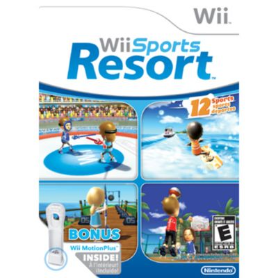 409-188 - WII SPORTS RESORT WITH MOTIONPLUS