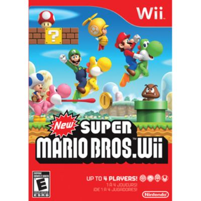 409-189 - New Super Mario Bros. Nintendo Wii Game