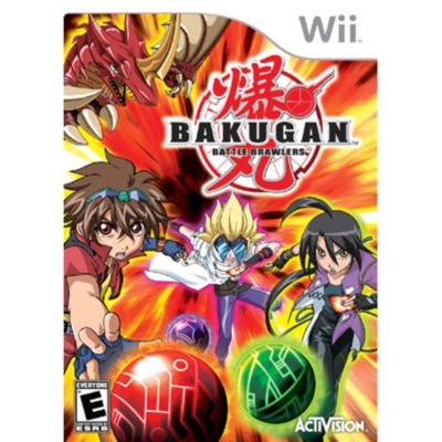 409-228 - Bakugan: Battle Brawlers Nintendo Wii Game