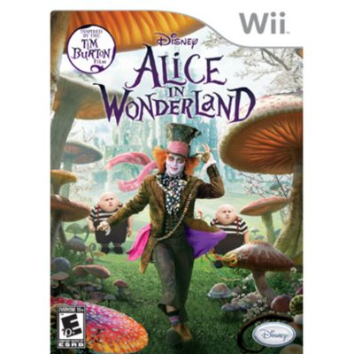 409-277 - Alice in Wonderland Nintendo Wii Game