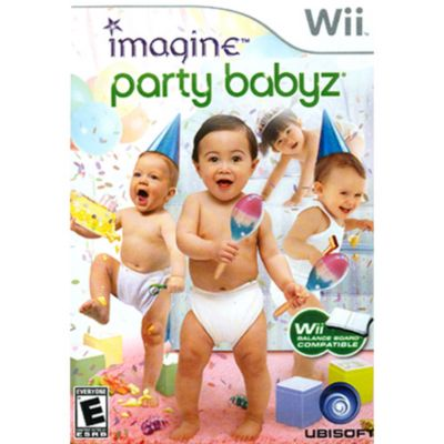 409-285 - Imagine: Party Babyz Nintendo Wii Game