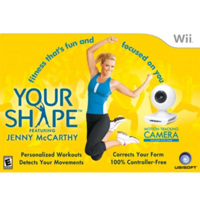 409-296 - Your Shape Nintendo Wii Game w/ Camera Accessory