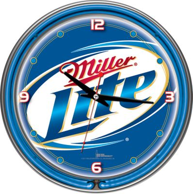 410-798 - Miller Lite Officially Licensed Neon Clock