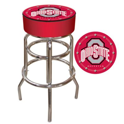 411-138 - Ohio State University Padded Bar Stool
