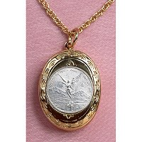 MUSTARD SEED COIN LOCKET-5081