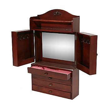 412-675 - Jewelry Armoire Wall-Mount