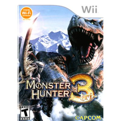 413-567 - Monster Hunter Tri Nintendo Wii Game