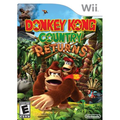 415-487 - Donkey Kong Country Returns Nintendo Wii Game