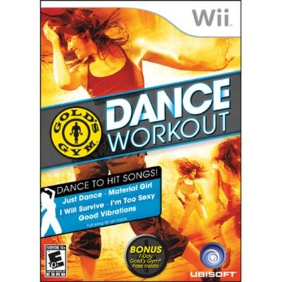 415-513 - Gold's Gym Dance Workout Nintendo Wii Game