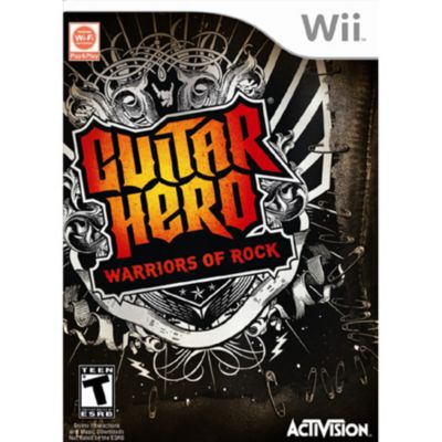 415-559 - Guitar Hero 6: Warriors of Rock Nintendo Wii Game