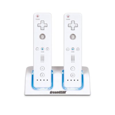415-591 - Nintendo Wii White Dual Charging Dock Accessory