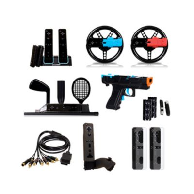 415-604 - Nintendo Wii Mega Deal Plus Accessory Kit