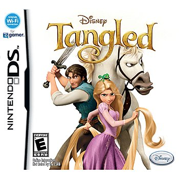 415-719 - Disney's Tangled Nintendo DS Game