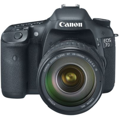 416-029 - Canon 7D 18MP Digital SLR Camera w/ EF-S 28-135mm IS USM Standard Zoom Lens