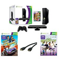 XBOX 360 4 GB COMPLETE KINECT BUNDLE