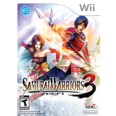 416-348 - Samurai Warriors 3 Nintendo Wii Game