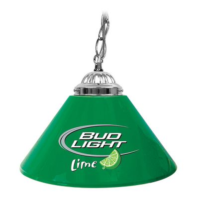 "416-614 - Bud Light Lime 14"" Single Shade Lamp"