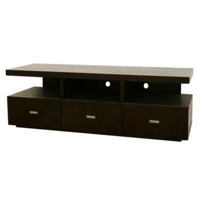 417-516 - Baxton Studio Nardo Dark Brown Wood Modern TV Stand