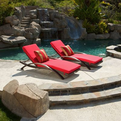 417-581 - RST Outdoor Cantina Arc Pillow Loungers - Set of Two