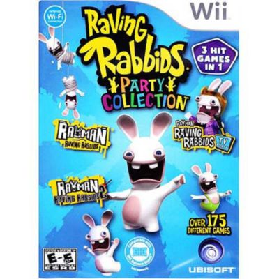 417-687 - Raving Rabbid Party Collection Nintendo Wii Game