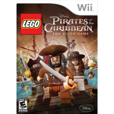 418-228 - Lego Pirates of the Caribbean Nintendo Wii