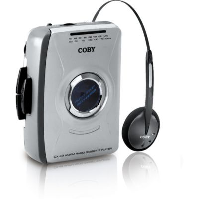 419-655 - Coby CX49 Personal AM/FM Stereo Cassette Player