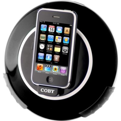 419-657 - Coby CSMP105CHA Digital Speaker Dock for iPod & iPhone