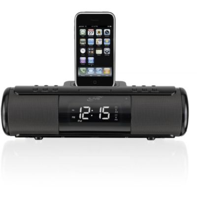 419-689 - iLive ISP 209B Portable Dock for iPhone/iPod w/ Alarm