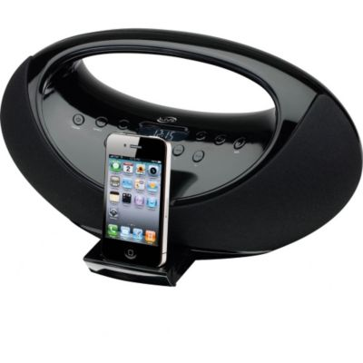419-690 - iLive IBP301B App Enhanced Boombox for iPhone/iPod