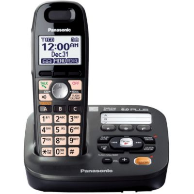 419-783 - Panasonic KX-TG6591T DECT 6.0 Plus Expandable Digital Cordless Telephone