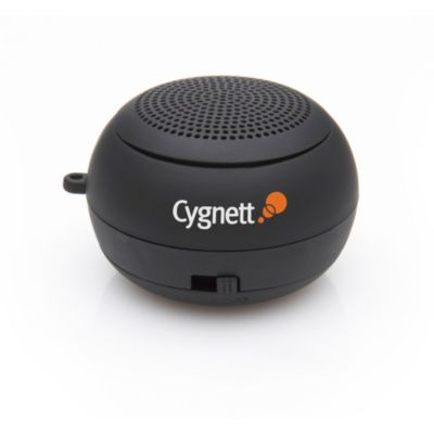 419-954 - Cygnett GrooveBassball Mini Rechargeable Speaker for MP3 Players