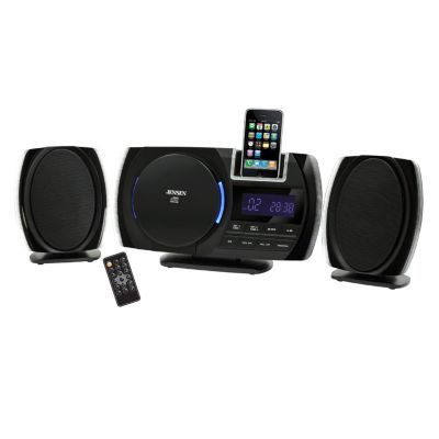 420-060 - Jensen JIMS-260I CD Stereo w/ iPod & iPhone Digital Docking Station